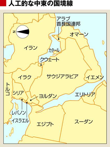 中東の直線的国境.jpg